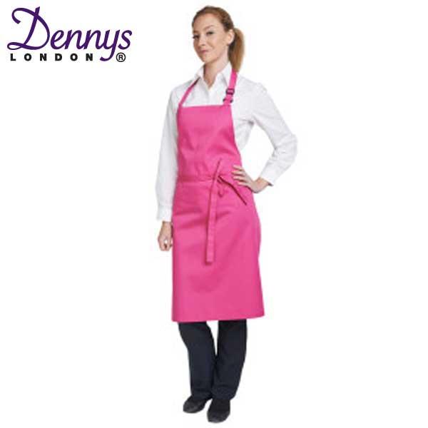Dennys Multi-Coloured Bib Apron
