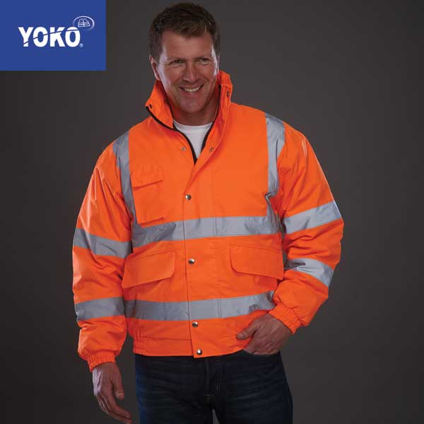 Yoko Hi-Vis Bomber Jacket