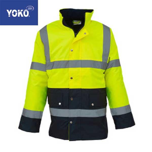 Yoko Hi-Vis Two Tone Jacket
