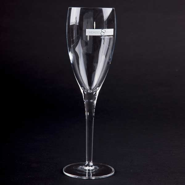 Michael Angelo Crystal  Flute Glass