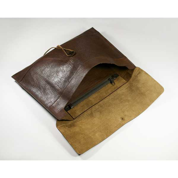 Ashbourne Leather A4 Envelope Document Case