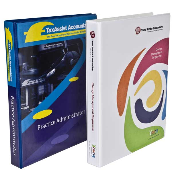 A4 Full Colour 2 Ring Binder PVC