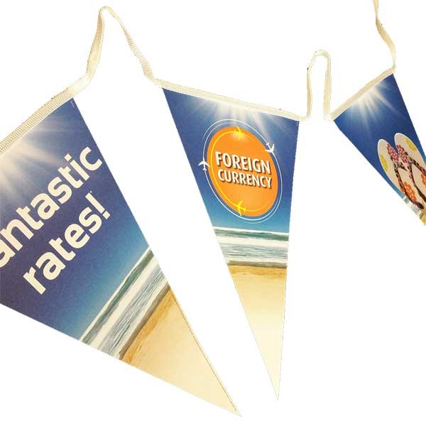 Triangular Paper Bunting