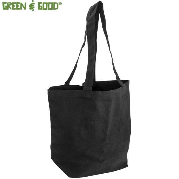 Green & Good Bayswater Black Canvas Bag