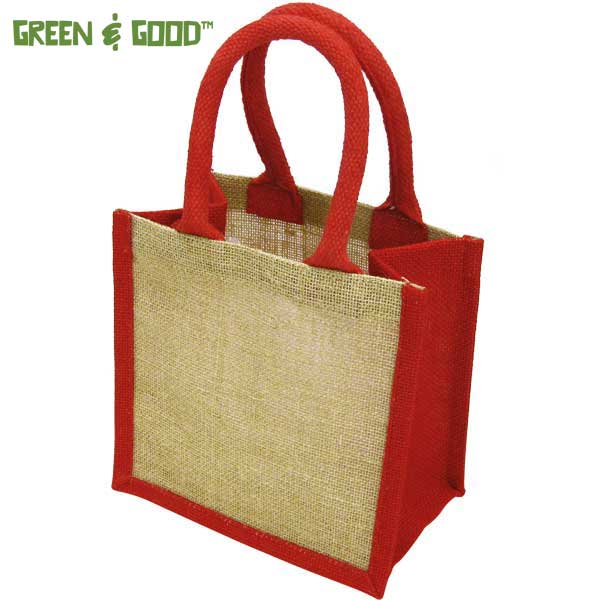 Green & Good Wells Tiny Jute Gift Bag