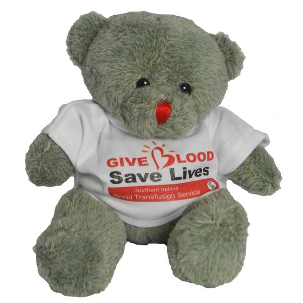Red Nose Bear with T Shirt 150mm