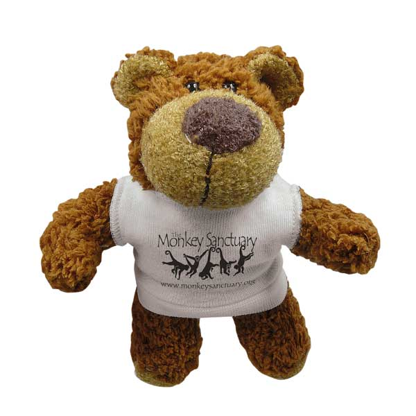 5 inch Buster Bear with T-Shirt
