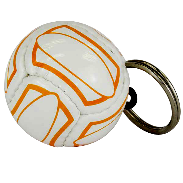 PVC Mini Football Key Ring