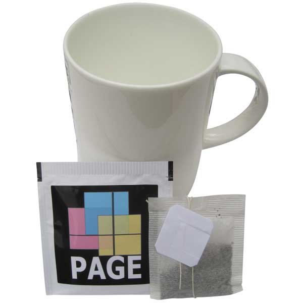 Labelled Tea Bags