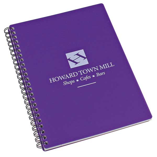 A5 Enviro-Smart Polyprop Pop Wiro Notebook