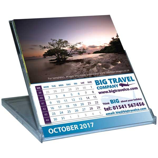 Standard Case Desk Calendar