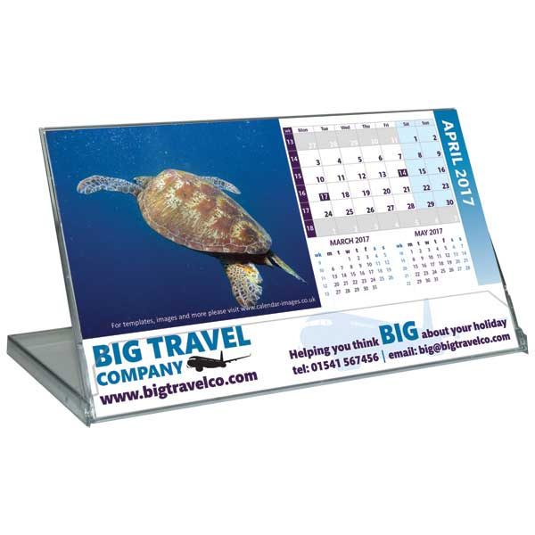 Landscape Case Desk Calendar