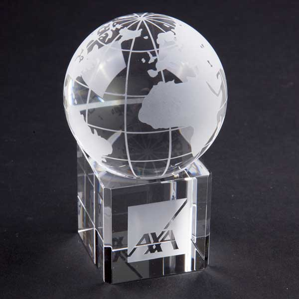 60mm Crystal Globe on Base