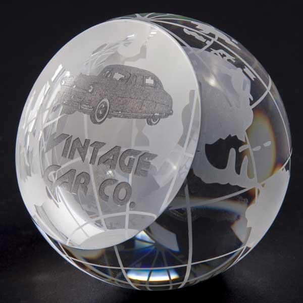 80mm Optical Crystal Globe