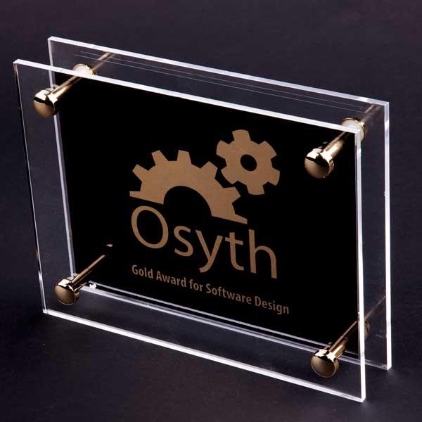 Acrylic Pillar Award