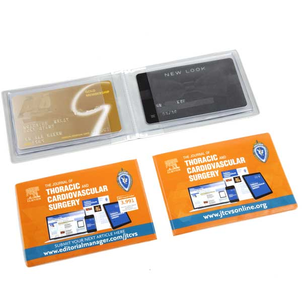 Landscape Credit Card Wallet - Full Colour