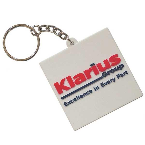 Moulded PVC Key Ring