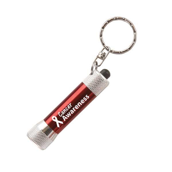 McQueen Torch Key Ring