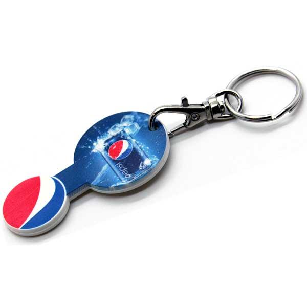 Trolley Stick Key Ring