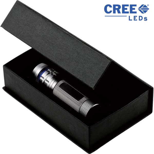 CREE LED 3W Torch with Zoom Function