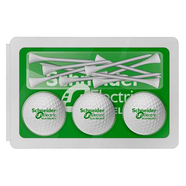 Blister Packed Ball and Tee Set