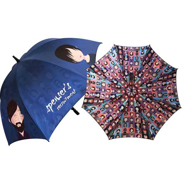 Spectrum Sport Double Canopy Golf Umbrella