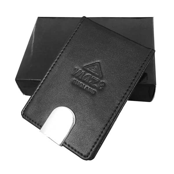 Geneva Leather Business Card Case