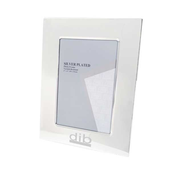 4 x 6 inch Silver Plated Photo Frame