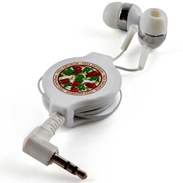 Retractable In Ear Headphones