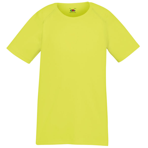 Fruit Of The Loom Childrens Performance T-Shirt