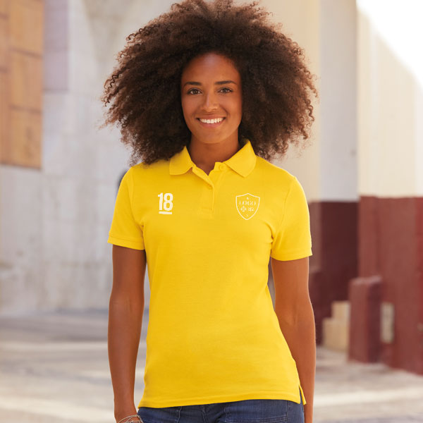 Fruit Of The Loom Lady-Fit 65/35 Pique Polo