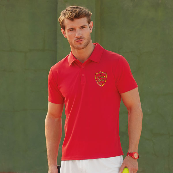 Fruit of the Loom Mens Performance Polo