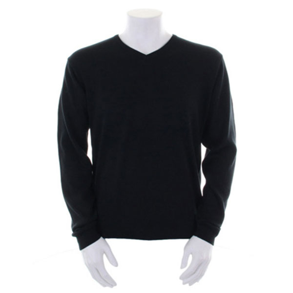 Kustom Kit Arundel Long Sleeve V-Neck Sweatshirt