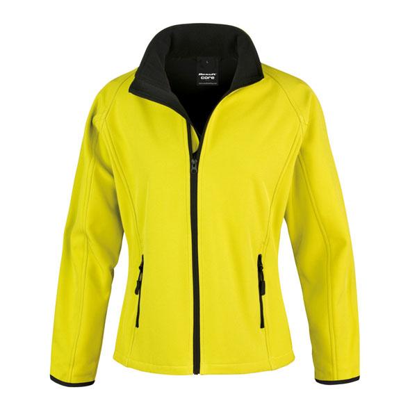 Result Core Ladies Printable SoftShell Jacket