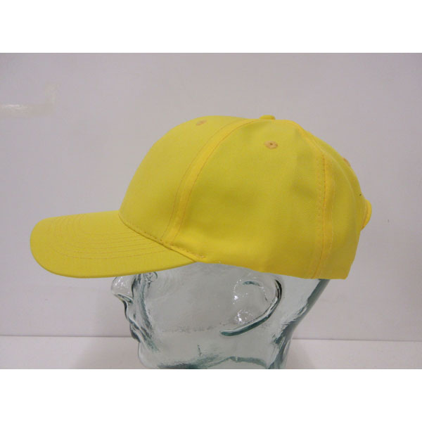 Breathable Poly Twill 6 Panel Baseball Cap