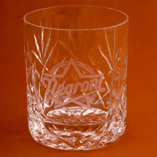 Glencoe Lead Crystal Whisky Tumbler