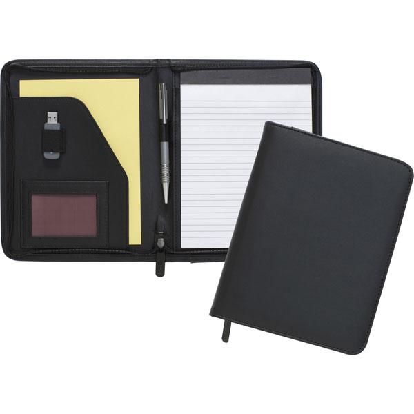 Dartford A5 Zipped Conference Folder