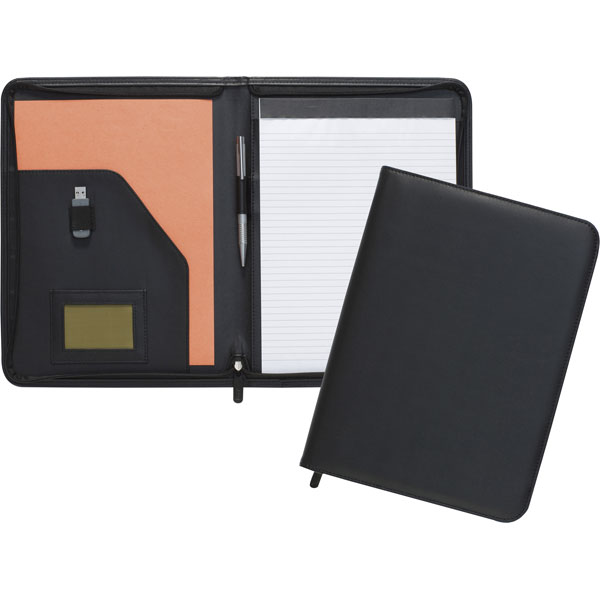 Dartford A4 Zipped Conference Folder