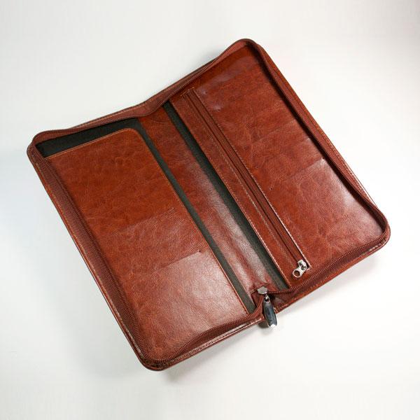 Darwin PU Zipped Travel Wallet