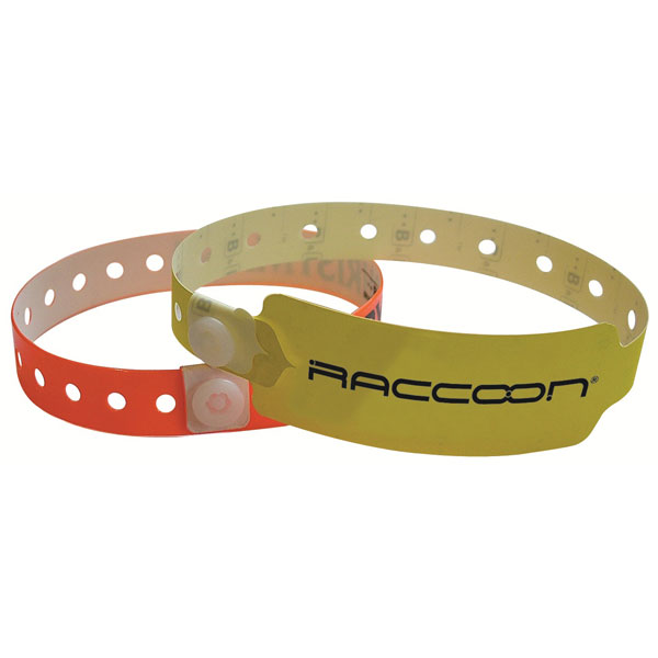 PVC Security Wristband