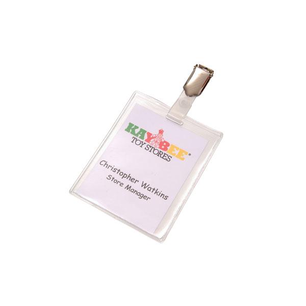 PVC Lanyard Pocket