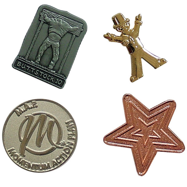 20mm Metal Relief Badge