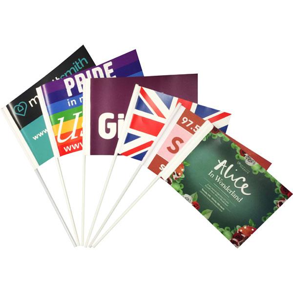 Silk Paper Flag
