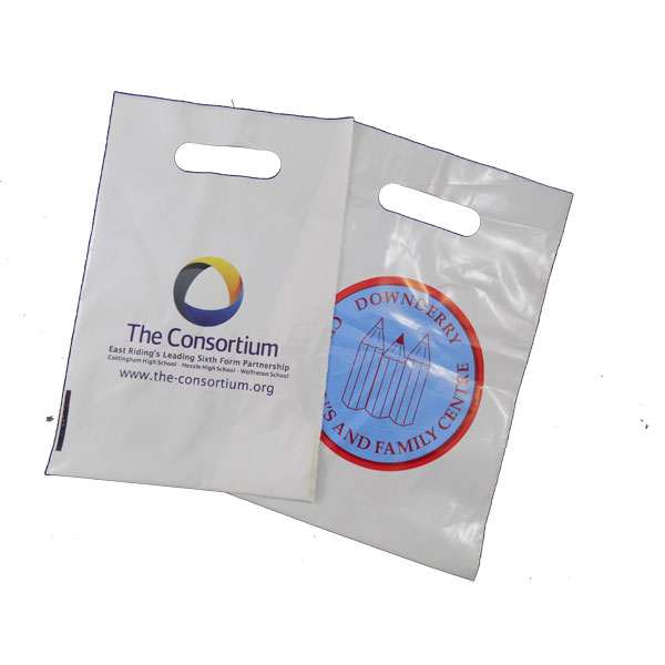 Small Digital Plastic Goody Bag
