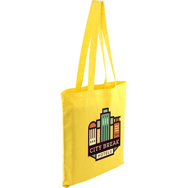 Kingsbridge Full Colour Coloured 5oz Cotton Tote Bag