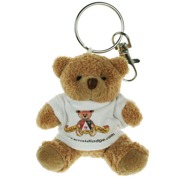 80mm Tubby Bear Key Ring