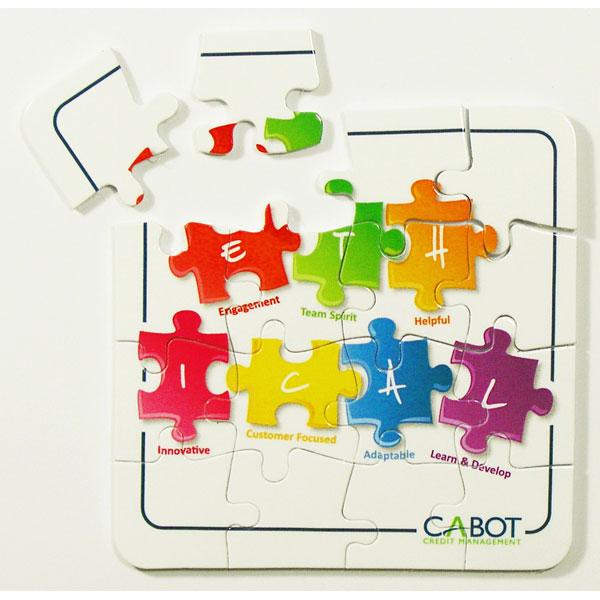 16 Piece Puzzle Coaster