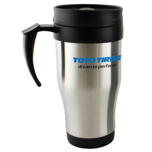 Economy Steel Travel Mugs