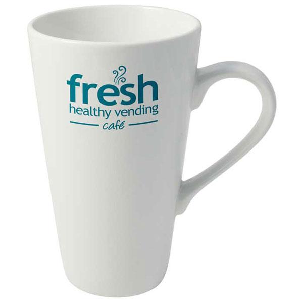 Cafe Latte Earthenware Mug