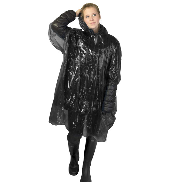 Ziva Disposable Rain Poncho